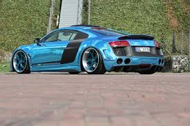 wrapped r8 performance does the audi r8 up