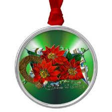horseshoe christmas ornaments lucky horseshoe ornaments keepsake ornaments zazzle