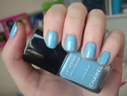 chanel coco blue nail polish review through the looking glass