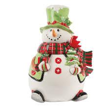 fitz and floyd santa cookie jar