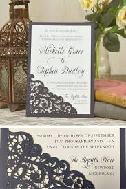 affordable wedding invitations laser lace wedding invitation use this laser cut lace slide in