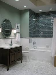 Glass Tiles Bathroom Best 25 Subway Tile Bathrooms Ideas On Pinterest White Subway