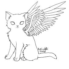 color angel cat tori ohki deviantart cat tattoo