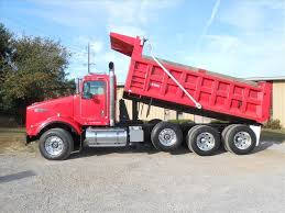 kenworth dump used 2008 kenworth t800 tri axle dump truck for sale in ms 6201