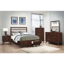 Storage Bedroom Set Coaster Carrington Storage Bedroom Set In Coffee Local Furniture