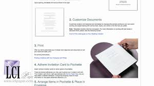 Invitations With Response Cards Diy Pochette Invitation Idea With Deckle Edge Cards Youtube