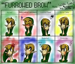 Link Meme - furrowed brow meme link by missstar091995 on deviantart