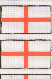 Flag White With Red Cross England St George Cross Flag English White Red Trouser Braces Mens