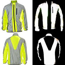 bicycle jackets for ladies btr hi vis reflective jacket ideal for cycling running jogging
