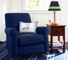 chambre marine design interieur fauteuil bascule bleu marine chambre garçon
