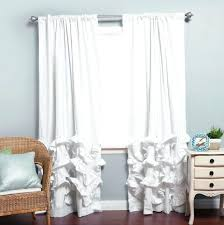 Light Silver Curtains Ruffle Blackout Curtains U2013 Teawing Co