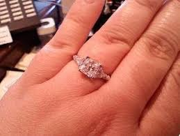 engagement rings that look real does it matter if your ring is real or weddings wedding
