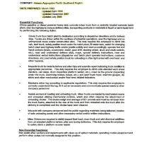 cv letter sle flatbed sle driver resume resume cv cover letter within