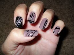55 abstract nail art ideas and design make lines to give a unique