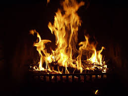 virtual fireplace binhminh decoration