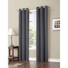 Charcoal Grey Blackout Curtains Blackout Gray Curtains U0026 Drapes Window Treatments The Home