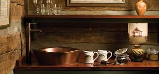 copper bathroom sink bowls undermount and drop in bathroom sinks