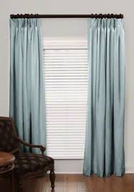 French Pleated Drapes French Pleat Silk Drapes
