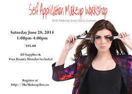 free makeup classes new worshop at the makeup box sign up today artista