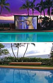 Backyard Theater Ideas Awesome Outside Movie Theater Sweet Homes And Sweet Stuff