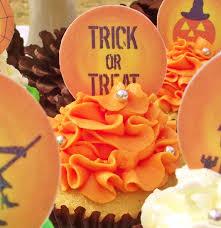 seasonal halloween halloween cupcake toppers cake toppers