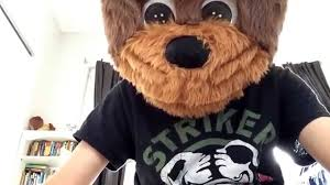 awesome animotion teddy bear mask from spirit youtube