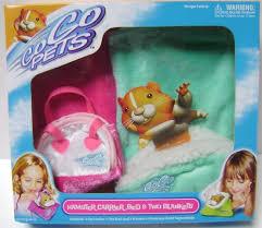 Hamster Bed Zhu Zhu Pets Hamster Carrier Bed U0026 Two Blankets U2013 Pink U0026 Teal
