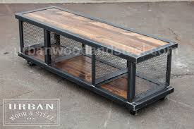 steel and wood table copley urban industrial coffee table urban wood steel llc