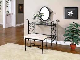 Black And Mirrored Bedroom Furniture Ceiling Charming Vanity Table With Mirror For Home Furniture