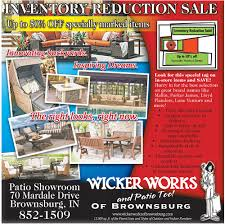 premier furniture shop in indianapolis wicker works of brownsburg