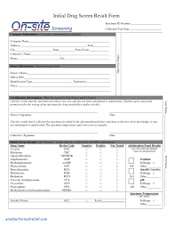 test result report template test result report template cool test results form template