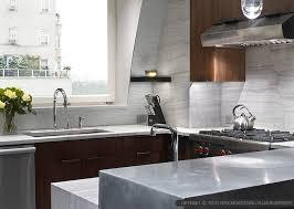 Glass Backsplashes For Kitchens by Elegant Modern White Glass Backsplash Tile Backsplash Com