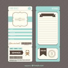 Boarding Pass Wedding Invitations Retro Boarding Pass Ticket Wedding Invitation Vector Free Download