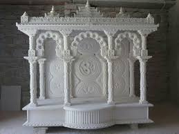 Marble Temple Home Decoration Awesome Marble Pooja Mandir Designs For Home Gallery Decorating