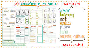 free home new bee homeschooler home management binder