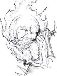ghost rider coloring pages ghost rider by chrisozfulton on deviantart