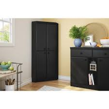 Black Armoire South Shore Morgan Pure Black Armoire 10386 The Home Depot