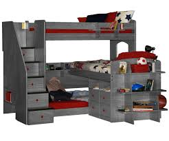 Trifecta Loft Bunk Bed Bedroom Furniture Beds Berg Furniture - Loft bunk beds kids