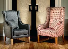 High Back Leather Armchair Chairs Outstanding High Back Chairs For Living Room High Back