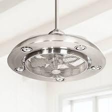 5 light ceiling fan possini euro segue 24 w brushed nickel 5 light ceiling fan