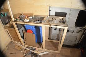 the kitchen cupboards vandog traveller