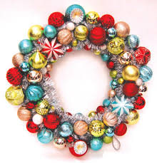 the colorful ornament wreath from martha stewart living s frosted
