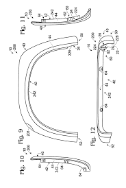 patent us8118329 fender flares and vehicles with fender flares