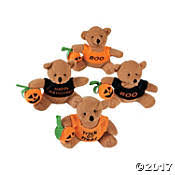 halloween stuffed animals u0026 plush toys oriental trading