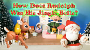 santa claus rudolph wins jungle bells santa claus