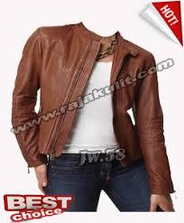 desain jaket warna coklat aket kulit wanita warna coklat produksi garut