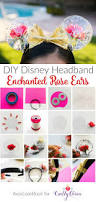 diy mickey ears enchanted roses for beauty and the beast