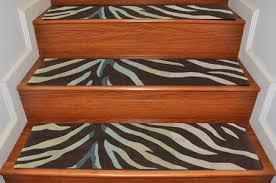 Modern Stair Tread Rugs Zebra Print Stair Treads Modern Stair Treads Payless Rugs