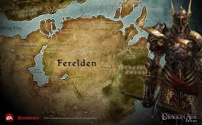 Thedas Map Dragon Age Origins Full Hd Wallpaper And Background Image