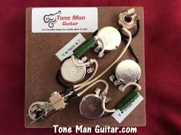 vintage upgrade les paul style wiring harness